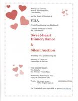 3rd Annual Sweet heart Dinner, Dance, and Silent...