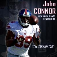 NY Giants Running Back- Autograph Signing