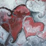 Paint 'n Wine with Thine own Valentine 2014
