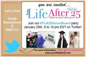 #YLA25VisionBoard Twitter Party