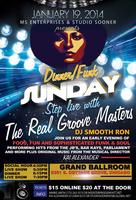 A Steppin/Dinner/Funk Sunday with The Real Groove...