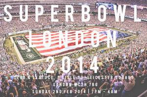 Superbowl Tailgate Party - London