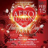 AFRO FUSION - RED & BLACK VALENTINE'S DAY EDITION