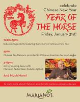 Celebrate Chinese New Year with Mariano's!