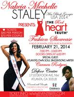 Miss Black Georgia USA 2014 Presents the Red Heart...
