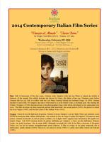 "Contemporary Italian Film Series: ""Venuto al Mondo"" -..."