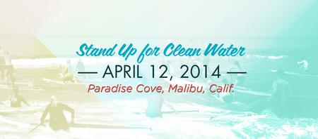 STAND-UP FOR CLEAN WATER 2014