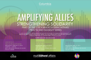 Amplifying Allies / Strengthening Solidarity Lunch #2