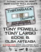 WCS Events - THROWBACK THURSDAY w / TONY POWELL | TONY...
