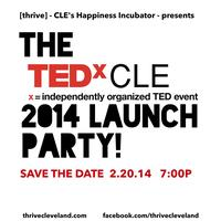 The TEDxCLE 2014 Launch Party!