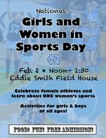 UNC National Girls and Women in Sports Day