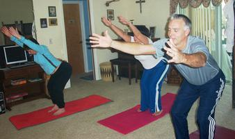 "Gentle Hatha Yoga Class ""I Love Yoga!"" with Legend..."