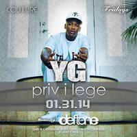 YG Live at Couture Fridays
