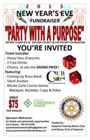 Rotary New Years Eve Party With A Purpose Fundraiser