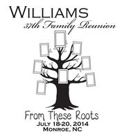 Williams Family Reunion 2014