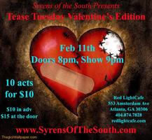 Syrens of the South presents Tease Tuesday —...