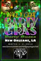 Mardi Gras Party Gras 2014 Party Bus