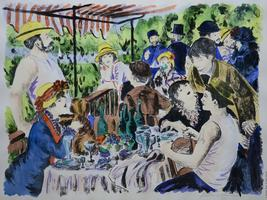 RENOIR AND THE MASTERS: VISIONS OF IMPRESSIONISM
