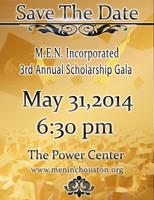 M.E.N. Incorporated 3rd Annual Scholarship Gala