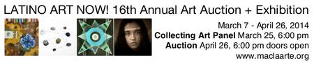 Latino Art Now! 16th Annual Art Auction + Exhibition...