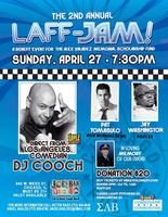 The Laff-Jam!  A Benefit Event for the Alex Valadez...