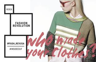 Fashion Revolution Day Presents: #INSIDEOUT NYFW at...