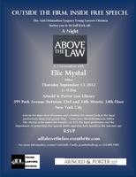 A Night Above the Law: A Conversation with Elie Mystal
