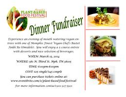 Plant-Based Food Festival Fundraiser Dinner