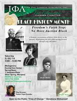Black History Month Celebration-Freedom's Faith Step:...