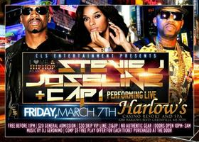 Stevie J, Joseline and Cap 1 Performing Live Friday...
