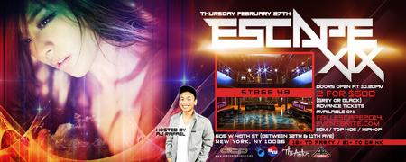 ATP NY: ESCAPE XIX @ STAGE 48 - HOSTED BY AJ RAFAEL!