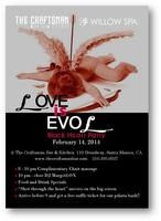LOVE is EVOL- A Black Heart Anti-Valentine's Day Party