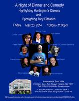 A Night of Dinner and Comedy for Huntington's Disease...
