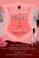VALENTINE'S DAY LUNCH!! 3 course meal & wine for only...