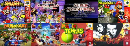 Super Smash Bros, Mario Kart, Mario Tennis, and...