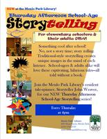 Menlo Park Library Elementary School-Age StoryTELLING:...
