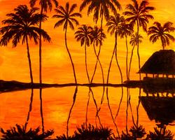 Pa'ina Paint Club - Tahitian Sunset