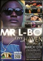 MR L-BO PERFORMING LIVE @THE HAVEN LOUNGE