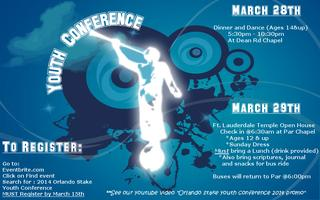 2014 Orlando Stake Youth Conference