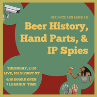 Beer History, Hand Parts, and IP Spies