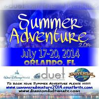 Summer Adventure 2014 - Disney World & Universal...