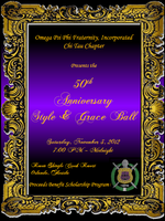 "Omegas of Orlando  50th Anniversary ""Style & Grace""..."