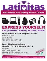 Multimedia Arts Camp for Girls