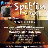 Spit'in Anger - New York City