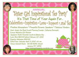 2nd Annual Sister Girl Inspirational Tea Party