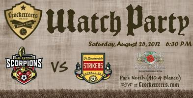 Scorpions Watch Party vs Ft. Lauderdale Strikers