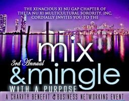 3rd Annual Mix N Mingle w/ A Purpose