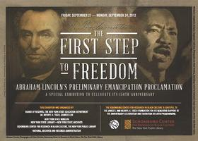 Exhibition: The First Step to Freedom- Friday,...