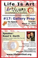 Life Is Art presents Art/Work Connections 17: Gallery...