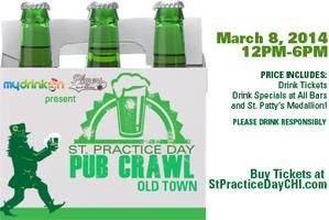 St Practice Pub Crawl Old Town